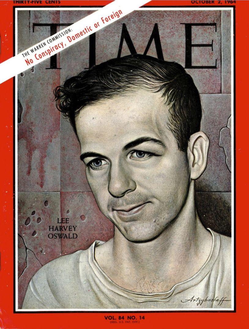 Lee Harvey Oswald Time Magazine Cover Oct. 2, 1964