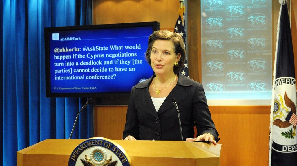 Victoria Nuland State Department File Photo