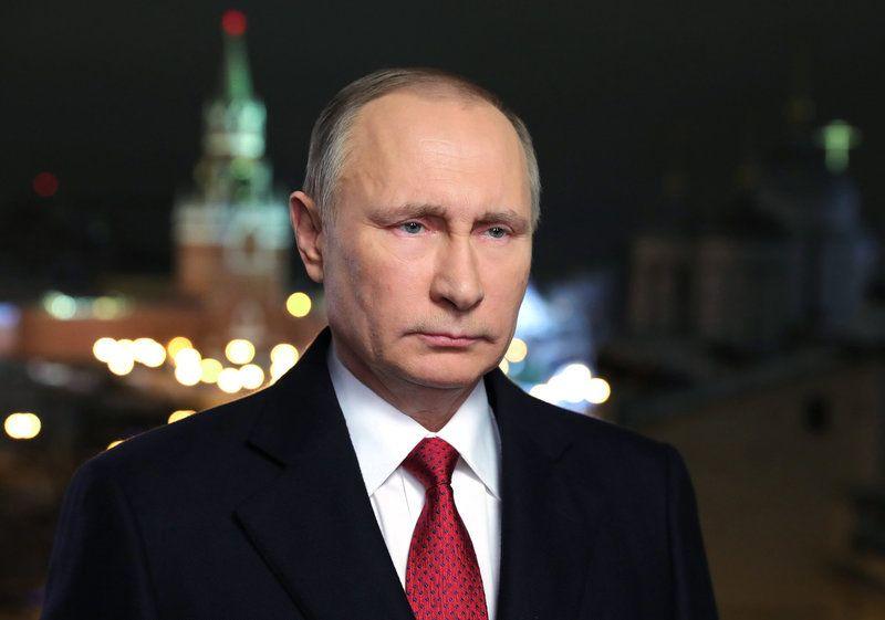 Vladimir Putin Portrait