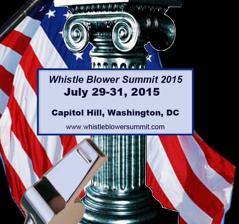Whistle Blower Summit 2015