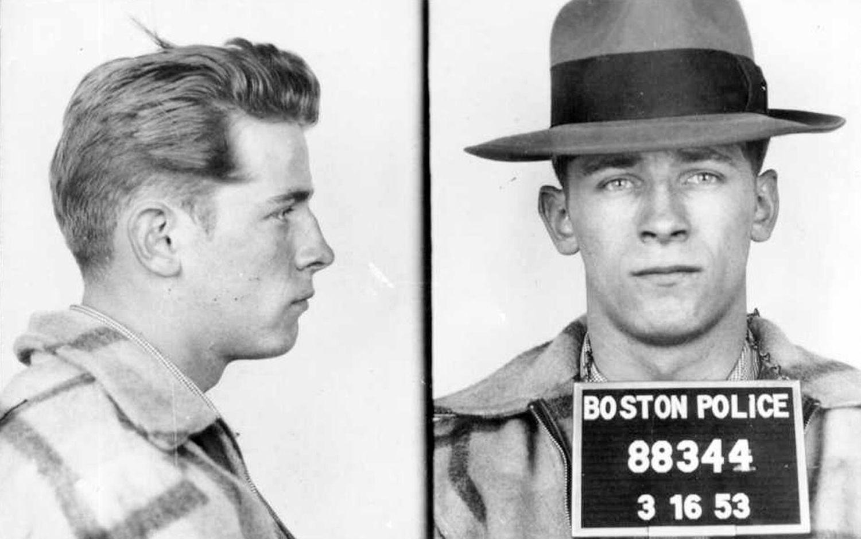 """James """"Whitey"""" Bulger 1953 mug shots"""